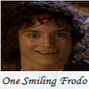 One Smiling Frodo w Background